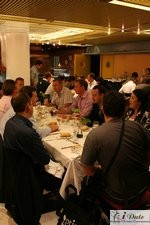 Lunch at the 2007 Internet Dating and Matchmaking Conference in Barcelona