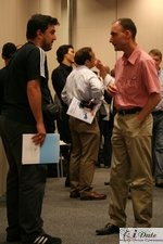 Networking at the 2007 European iDate Conference