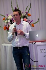 Chas McFeely (CEO of HuookChasUp.com) at iDate2011 California