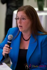 Mae Flexer (Representative from Connecticut) discussing Online Dating Legislation at iDate2011 California