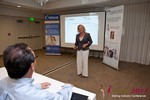 Julie Ferman (CEO of Cupid 's Coach) at iDate2011 California