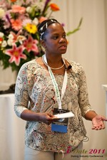 Robinne Burrell (Vice President at Match.com) at the June 22-24, 2011 California Internet and Mobile Dating Industry Conference