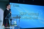 Mark Brooks - Announcing Best Mobile Dating Site Winner for 2012 at the 2012 Internet Dating Industry Awards Ceremony in Miami