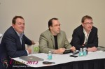 IDEA Session Panel - Max McGuire, Brian Bowman and Lorenz Bogaert at the 2012 Miami Digital Dating Conference and Internet Dating Industry Event