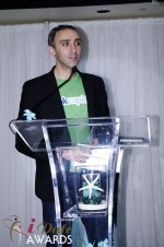 Sam Yagan - OKCupid - Winner of Most Innovativee Company 2012 in Miami Beach at the 2012 Internet Dating Industry Awards