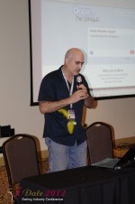 Daniel Gudema - CEOOops I'm Single at the 2012 Miami Digital Dating Conference and Internet Dating Industry Event