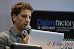 David Khalil (Co-Founder of eDarling) at iDate2012 Europe
