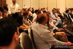 Audience and Beer at the Final Panel  at the 2012 Los Angeles Mobile Dating Summit and Convention