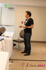 Andy Kim (CEO of Mingle)  at the June 20-22, 2012 Los Angeles Internet and Mobile Dating Industry Conference