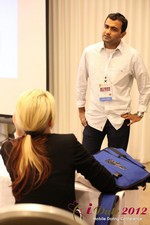 Dwipal Desai (CEO of TheIceBreak.com) covers monetization during a relationship at iDate2012 Los Angeles