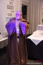 Jonathan Crutchley (Chairman at Manhunt) is actually Obi Wan Kenobi! at iDate2012 Los Angeles