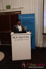 Santanu Basu (Sr Product Manager at Bing) at iDate2012 Los Angeles