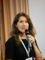 Tanya Fathers (CEO of Dating Factory) at the 2013 European Internet Dating Industry Conference in Köln