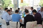 Lunch at the September 16-17, 2013 Köln European Online and Mobile Dating Industry Conference