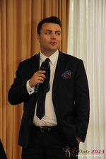 Maciej Koper (CEO of World Dating Company) at the 10th Annual European iDate Mobile Dating Business Executive Convention and Trade Show