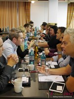 Speed Networking at the 2013 European Union Online Dating Industry Conference in Cologne