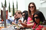 Lunch at the 2013 Internet and Mobile Dating Industry Conference in L.A.