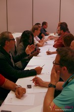 Speed Networking at the June 5-7, 2013 Mobile Dating Industry Conference in L.A.
