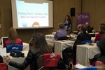 Carmelia Ray, host of the Date Coaching Track at the January 16-19, 2013 Las Vegas Internet Dating Super Conference