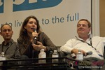 Tanya Fathers (CEO of DatingFactory) at the January 16-19, 2013 Las Vegas Online Dating Industry Super Conference