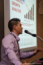 Kevin Feng (Super Affiliate at MoxyMedia) at the January 16-19, 2013 Las Vegas Online Dating Industry Super Conference