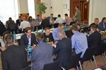 Speed Networking among Dating Industry Executives  at the 2014 European Internet Dating Industry Conference in Köln