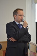 Dieter Plassman, CTO at Net-M  at the 2014 E.U. Online Dating Industry Conference in Germany