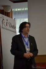 Francesco Nuzzolo, France Manager for Dating Factory  at the September 7-9, 2014 Mobile and Internet Dating Industry Conference in Köln