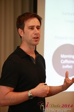 Author Neal Cabage Of The Smarter Startup at the 2014 Online and Mobile Dating Business Conference in Beverly Hills