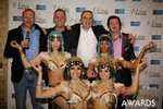 The Crew from Britian  at the 2014 Las Vegas iDate Awards