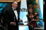 Ken Agee & Renee Piane (Multiple iDateAward Winners) at the January 15, 2014 Internet Dating Industry Awards Ceremony in Las Vegas
