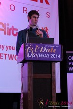 Aaron Stein - Director of User Acquisition @ HowAboutWe at the January 14-16, 2014 Las Vegas Online Dating Industry Super Conference