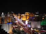 View of Las Vegas Strip - Party @ Foundation Room at the 11th Annual iDate Super Conference
