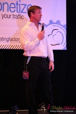 Dr. Jeff Collier - CEO of MateSafe at the 2014 Internet Dating Super Conference in Las Vegas