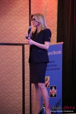Dr. Wendy Walsh - Reporter @ CNN at the January 14-16, 2014 Las Vegas Internet Dating Super Conference