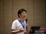 Dr. Song Li - CEO of Zhenai at the 41st iDate2015 Beijing convention