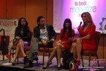 CNN Panel on Content Marketing - Carmelia Ray, David Perez, Julie Spira & Wendy Walsh at the 2015 Internet Dating Super Conference in Las Vegas