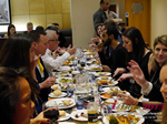 Lunch Among European And Global Dating Industry Executives   at the 12th annual Euro and U.K. iDate conference matchmakers and online dating professionals in London