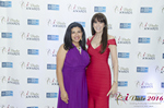 Damona Hoffman and Julie Spira  at the 2016 Internet Dating Industry Awards Ceremony in Miami