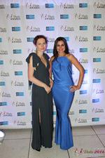 Media Wall Lena Bay and Natalia Jorgenson  at the seventh annual iDate Awards Ceremony