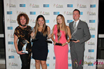 Winners of the Idate Awards  in Miami at the January 26, 2016 Internet Dating Industry Awards