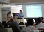 Alex Harrington (CEO of Snap Interactive)  at the 38th Mobile Dating Indústria Conference in Califórnia