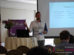 Kenny Hyder (VP of Equate Media)  at the 2016 Califórnia Mobile Dating Summit and Convention
