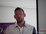 Kenny Hyder (VP of Equate Media)  at the 38th iDate Mobile Dating Negócio Trade Show