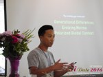 Monty Suwannukul (Product designer at Grindr)  at the June 8-10, 2016 Mobile Dating Industry Conference in Los Angeles