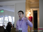 Shang Hsui Koo(CFO, Jiayuan)  at the 38th Mobile Dating Negócio Conference in Califórnia