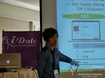 Takuya Iwamoto (Diverse-yyc-co-jp)  at the 38th iDate Mobile Dating Industry Trade Show