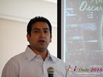 Tushar Chaudhary (Associate director at Verizon)  at the 38th iDate2016 Los Angeles