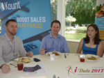 Lunch at the iDate Mobile Dating Business Executive Convention and Trade Show