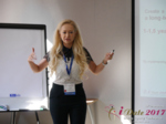 Julia Lanske at the 49th International Romance Industry Conference in Belarus
